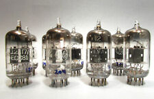 12At7 Vacuum Tubes General Electric Used Old Stock Hickok Tested Lot of 9