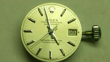 Rolex Oyster Perpetual Swiss 26J Adj 5 Pos & Temp Watch Movement & Dial cal.1160