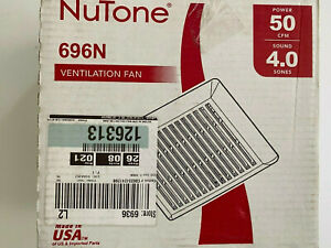 BRAND NEW Broan-NuTone 50 CFM Wall/Ceiling Mount Bathroom Exhaust Fan 696N
