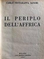 Carlo Fettarappa Sandri - Il periplo dell'Africa - 1937, Ceschina