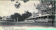 PAVILLION AND HOTEL, JOHNSONS ISLAND OHIO