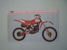- RITAGLIO DI GIORNALE ANNO 1982 - MOTO HRD RP 50 RED POWER