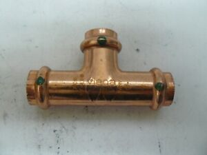"Viega 77377 1/2"" ProPress Copper Tee lot of 8 new"