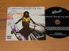 WANNA CHANGE MY LIFE - WHEELS / 10 TRACK ALBUM-CD (CARDSLEAVE)