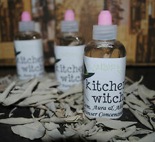 100ml CONCENTRATED REAL ORGANIC WHITE SAGE CLEANSER SMUDGE Home Floors Gems etc