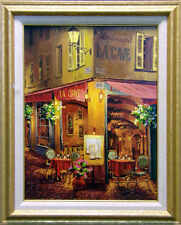 "Viktor Shvaiko ""Dinner at La Cave"" Jewels III suite H.Signed w/custom framed"