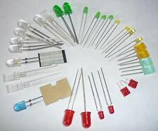 LED LED 30 pezzi colorati 10 ma Kemo s36 standard LED ROSSO, VERDE, GIALLO, infrarossi