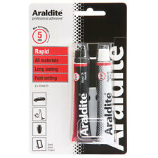 Araldite Rapid - Fast Setting Strong Adhesive Glue - 2 x 15ml Tubes