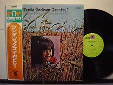 WANDA JACKSON COUNTRY JAPAN OBI LP