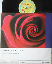 "COURTNEY PINE feat CARROLL THOMPSON ~ Im Still Waiting ~ 12"" Single PS"