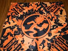 NWOT- Offically Licened INSANE CLOWN POSSE orange/black Hatchetman Bandanna