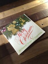 1975 Merry Christmas SEALED 30 Favorite Songs Great Artists BOXED SET LP 2 LP's