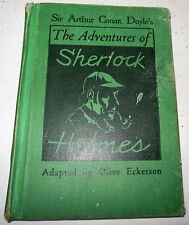 The Adventures of Sherlock Holmes Adapted by Olive Eckerson Globe 1950