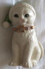 Lenox Santa'S Kitty Elf Cat Christmas Holiday