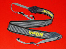 Original genuine Nikon camera large neck strap for digital reflex dsrl