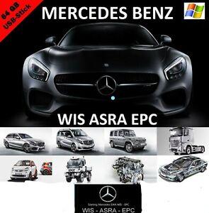 Mercedes Benz WIS ASRA EPC 2018 Werkstatthandbuch Reparaturanleitung Deutsch USB