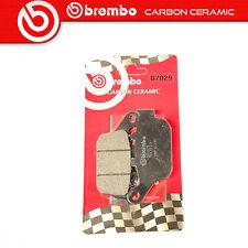 Brake Pads Brembo Carbon Ceramic Rear for Honda VTR 250 Mc33 98 09