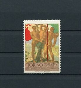 Cinderella / Poster Stamps International Exhibition Torino Turin Italy 1911