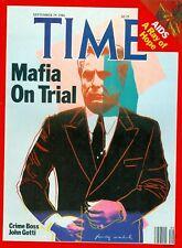 JOHN GOTTI 8X10 PHOTO MAFIA ORGANIZED CRIME MOBSTER MOB MAGAZINE COVER PICTURE