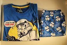 Star Wars Jungen Schlafanzug Gr. 116 2- tlg. Shorty Pyjamaset