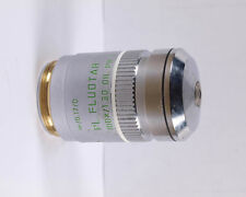 Leica PL FLUOTAR 100x Oil Ph3 Phase Contrast M25 Microscope Objective