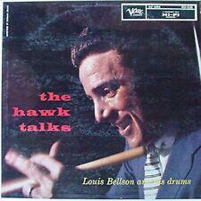 LOUIS BELLSON & DRUMS - THE HAWK TALKS - VERVE LP