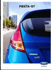 2015 Ford Fiesta 32-page Original Car Sales Brochure - ST SE Titanium