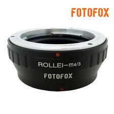 QBM-M4/3 Rollei SL 35mm Lens to Olympus Micro 4/3 E-PL3 OM-D Panasonic GH4 GX7