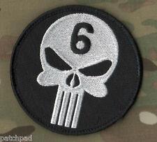 SEAL OPERATION NEPTUNE SPEAR 5/2/2011 Osama bin Laden ST6 PATCH: PUNISHER SKULL