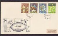 1980 Great Britain UK FDC Sport philart Croydon royal mail N-44