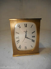 Quality 8 day Swiza Alarm Clock   ref 2602