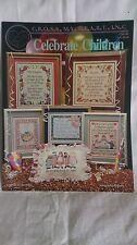Celebrate Children cross stitch charts - Cross My Heart 1994