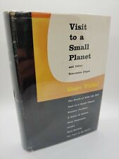 Gore Vidal / Visit to a Small Planet Other Television Plays First Edition 1956