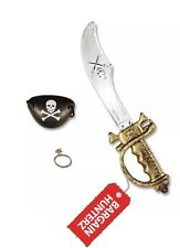 Pirate Sword with Accessories Pirate Sword//eye Patch//earring Small B52 771