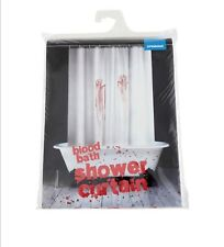 BLOOD BATH SHOWER CURTAIN NORMAN BATES PSYCHO MOVIE INSPIRED BY SPINNING / NEW