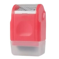 1PC Office Plus Your ID Guard  Roller Stamp SelfInking Stamp Messy Code Security