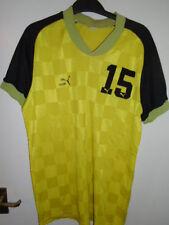Vintage années 80 PUMA Football Handball shirt grand numéro 15 Made in West Germany