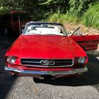 1964 Ford Mustang 2dr 1964 Ford Mustang Convertible Red RWD Automatic 2dr