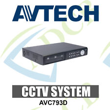 AVTECH 4CH D1 DIGITAL VIDEO RECORDER DVR USB DVD BACKUP CCTV SECURITY 2TB VGA