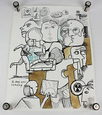 "Vans Neil Blender Art Skateboard Poster 24"" x 18"", NEW"