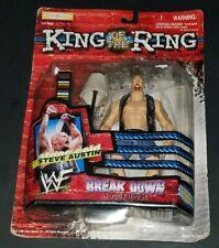 WWE/WWF Jakks Wrestling Action Figure King Of The Ring Stone Cold Steve Austin!