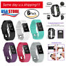6 Pack Replacement Wristband For Fitbit Charge 2 Band Silicone Fitness Small