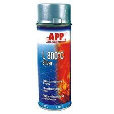 1 bombe de peinture haute température gris aérosol, 800° (PE05)