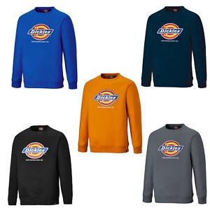 Dickies Longton Sweatshirt Mens Work Jumper Sweater DT3010 Hard Working UK S-XXL