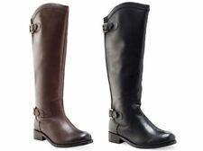 Zip Block Heel Riding, Equestrian Boots for Women
