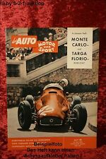 Ams Auto Motore Sport 11/58 Panhard Dyna Mga Fmr TG 500