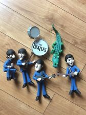 beatles mcfarlane saturday morning cartoon 2004 figure set Lot Paul Ringo John