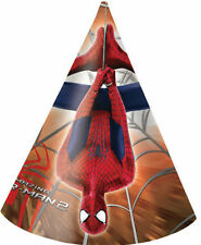 CAPPELLINI IN CARTONCINO SPIDERMAN THE AMAZING CONF. 6 PEZZI EXTRA FESTE E PARTY