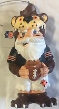 Chicago Bears Thematic Gnome Ornament Holiday Christmas New FREE SHIPPING