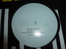 "ANOTHER RECORD BY THE TOTAL RECORD CO - 12"" Vinyl Single - WHITE LABEL"